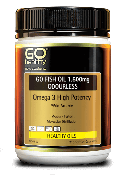 Products / Healthy Oils /. GO FISH OIL 1,500mg